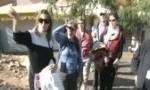 Slavenka Shares With Pilgrims