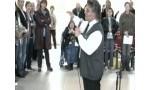 Singing with Al Barbarino at JPII Hall